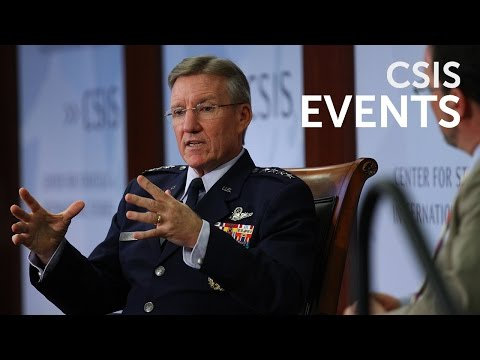 """Pacific Air Forces Strategy and Engagement in Asia-Pacific"", feat. General Herbert ""Hawk"" Carlisle"