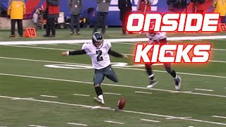 NFL Successful Onside Kick Compilation