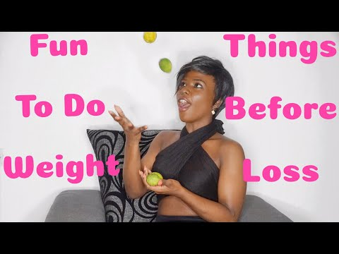Fun things to do before starting your diet/weight loss journey