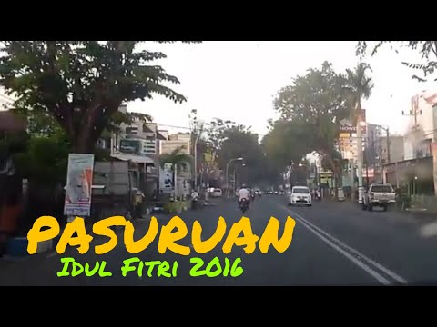 City of Indonesia : Pasuruan city in the morning