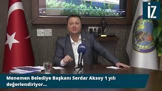 Gambar cover Menemen Belediye Başkanı Serdar Aksoy canlı yayında