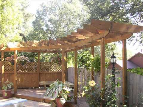 garden pergola garden pergola and gazebo youtube. Black Bedroom Furniture Sets. Home Design Ideas