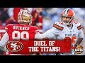 Cleveland Browns Know They Can't Beat 49ers With Talent Alone