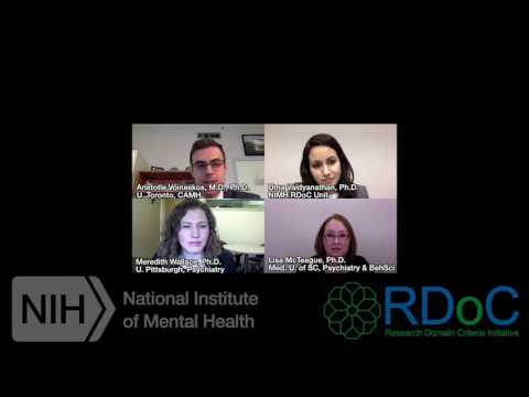 Webinar: Analyzing and Using RDoC Data in Your Research