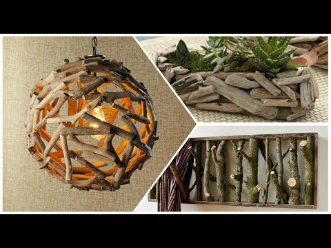 Home Decor With Tree Branches