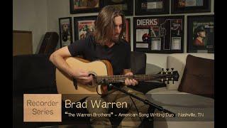 Recorder Dreadnought Cutaway A/E | Ft. The Warren Brothers | Luna Guitars