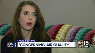 Pinal County woman blames utility company for sickening her family