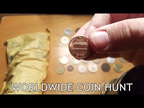 WORLD COIN HUNT | IN GOD WE TRUST