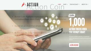 1000 Free Action Coins - Crypto Airdrop
