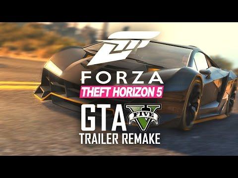 Forza Horizon 3 Trailer Remake in GTA V!