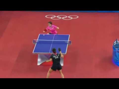 Table Tennis Slow-motion (2008 Beijing)