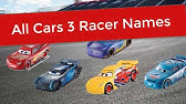 Disney Pixar Cars 3 All Characters Cars Youtube
