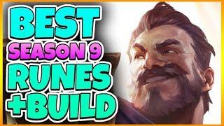 NEW Season 9 GRAVES RUNES + BUILD | Tarzaned