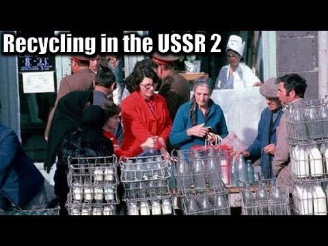 131. Recycling in the USSR. Part 2. Glass bottles saga