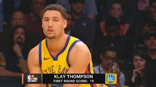 2018 NBA 3 Point Contest! Klay Thompson vs Devin Booker
