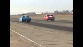 My 1966 Ford Fairlane at kingdon drags 2016