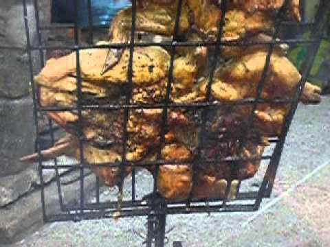 El verdadero pollo al asador youtube - Como hacer un asador ...