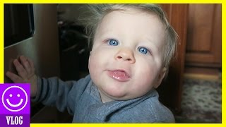24 Hours with a SUPER CUTE 9 month old baby! Day in the Life of Baby Micah!  |  KITTIESMAMA