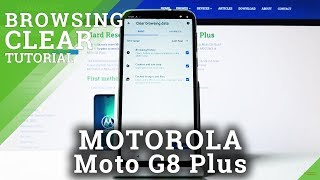 How to Clear Browsing Data in MOTOROLA Moto G8 Plus – Delete Cookies / Browser History