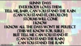 New Edition Can You Stand the Rain lyrics   YouTube