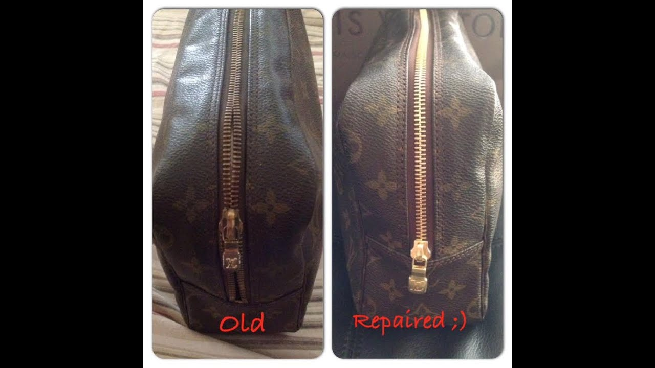 c21c88e38d0f Louis Vuitton Repair and Reveal - YouTube