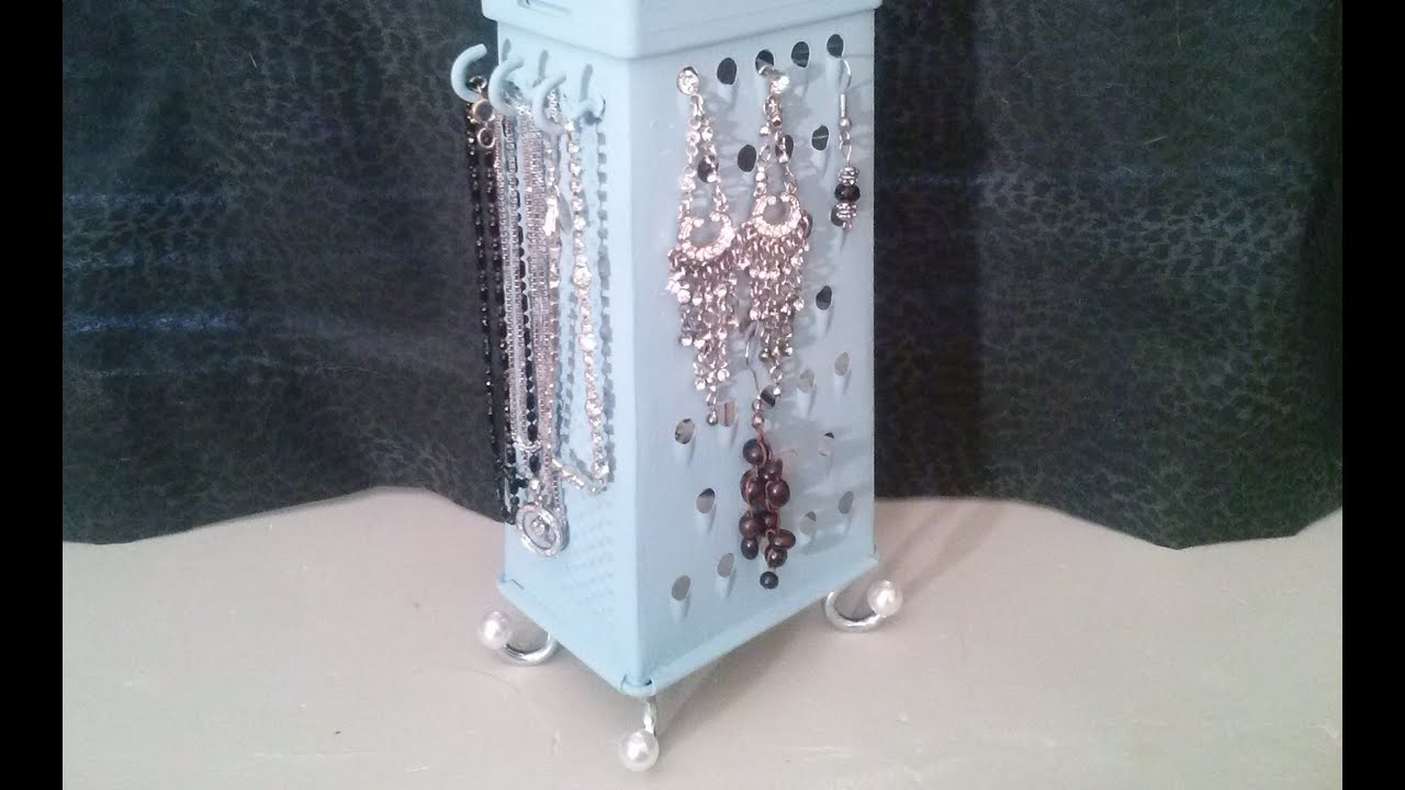 Box Grater Jewellery holder YouTube