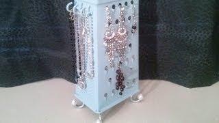 Box Grater Jewellery holder