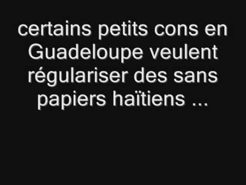 HAITI - Régularisation des sans papiers haïtiens en Guadeloupe