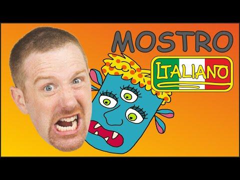 mostri-per-bambini-|-storie-e-canzoni-in-italiano-per-bambini-|-steve-and-maggie-italiano