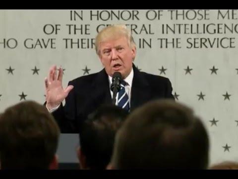 Trump Speaks At CIA HQ-Full Speech