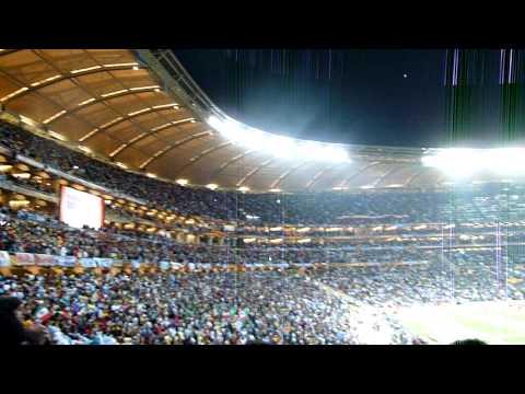 Quick Tour of Soccer City, Johannesburg - Argentina v. Mexico