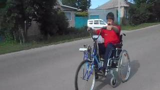 видео Самодельный электропривод для инвалидного кресла
