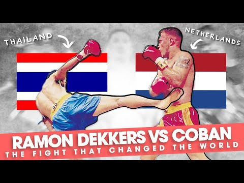 """Ramon Dekkers vs Coban: """"The Fight That Changed The World"""""""