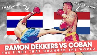 "Ramon Dekkers vs Coban: ""The Fight That Changed The World"""