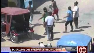 América Noticias: Pucallpa: dos bandas de delincuentes se enfrentan