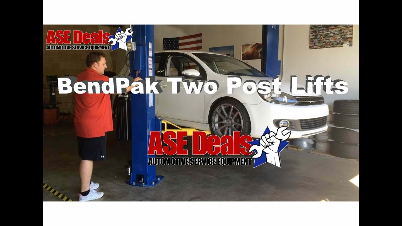 BendPak XPR-10AS-LP Two Post Car Lifts From ASEDeals
