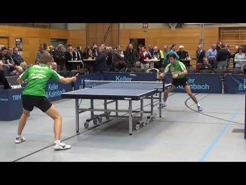 Warm Up Khanin Weissrussland Afanador  Puerto Rico 2  Bundesliga Table Tennis TV Hilpoltstein TTC Ju