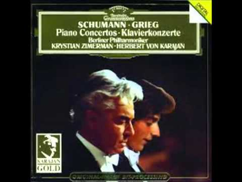Krystian Zimerman Plays Schumann AND Grieg Piano Concertos 【Complete】【HQ】