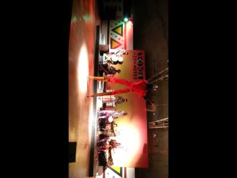 African dancing at African Cultural Center in Korea Part 3