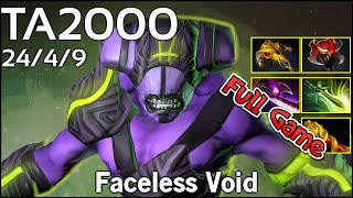 TA2000  - Faceless Void - Dota 2 Full Game 7.17