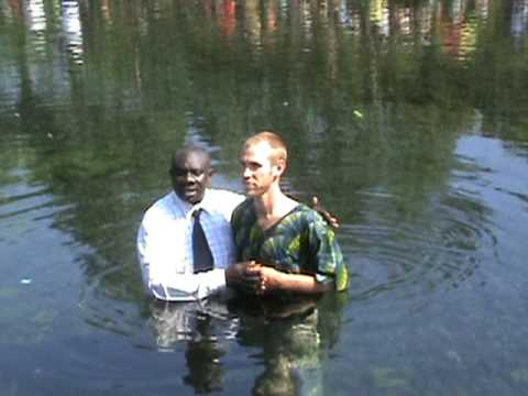 Sean's Baptism in Musanze Town