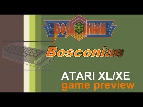 Atari XL/XE game preview -=Bosconian=-