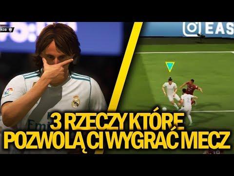 3 RZECZY KTÓRE POZWOLĄ CI WYGRAĆ MECZ: FIFA 18 DEMO #2 - Strategia, taktyka by wygrać (BartParus)