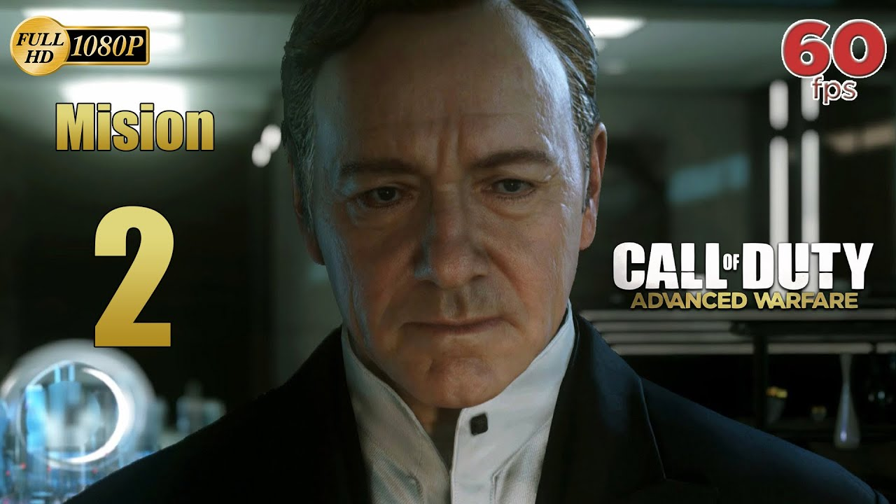 Call of Duty Advanced Warfare Mision 2 Atlas | Gameplay Español PC PS4 XboxOne 60 fps 1080p