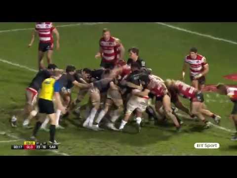 Gloucester Vs Saracens – Highlights ( Aviva Premiership Rugby )