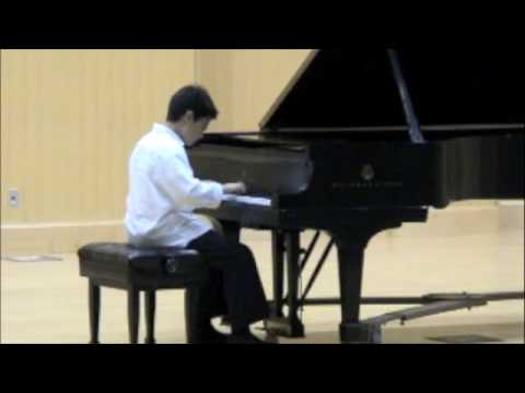 Ethan Paik Marzban (age 11) Playing Mozart Sonata in B flat, K.570