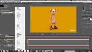 2 AE için karikatür Fare 3D Max Animasyon - Bölüm