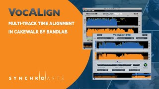 Using VocALign in Cakewalk by Bandlab for Multi-Track Time Alignment
