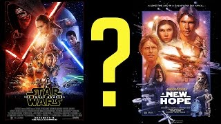 Is The Force Awakens Too Similar To A New Hope?