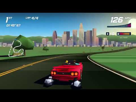 Horizon Chase but on PlayStation in 2021 |